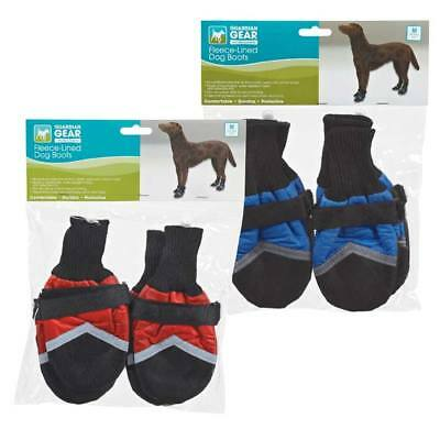 Fleece Lined Dog Boots (Guardian Gear Fleece Lined Boots for Dogs / Dog Booties - All Weather)
