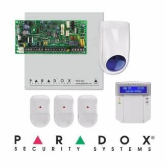 PARADOX SECURITY ALARM KIT $700*