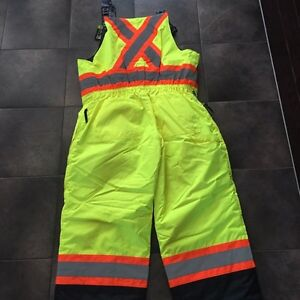 New Safety Winter Overalls/Bibs Size LRG