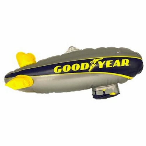 """NEW SEALED 12"""" Goodyear Tire Inflatable Blimp Blow Up Advertising Dirigible"""
