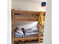 ** PRICE DROP**. Solid pine bunk beds