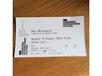 EIF Das Rheingold Opera Ticket
