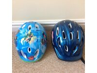 Childs safety helmets
