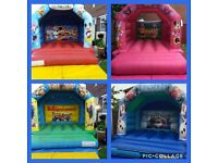 Bouncy castle hire, Disco dome hire, Mascot Hire, Candy Cart hire, & Party hire from £45