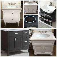 Check out our Beautiful Selection of Vanities for your Bath Reno