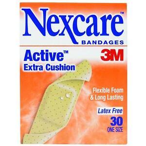 6-Pk-3M-1-X-3-Nexcare-Flexible-Waterproof-Bandaid-Bandages-30-Pack-512-30PB