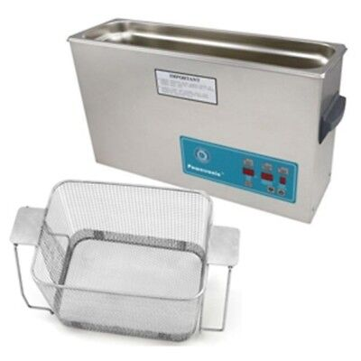 Crest P1200d-45 Ultrasonic Cleaner W Power Control-perf Basket
