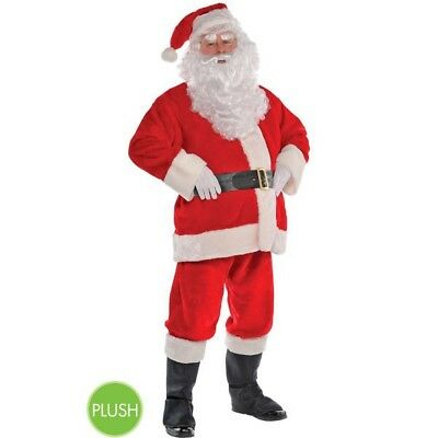 Santa Claus Suit GOOD Quality XL Elf costume suit Christmas Red Green SEE PHOTOS - Elf Suit