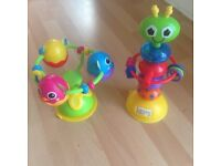 Lamaze highchair toys