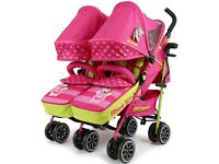 Twin Isafe stroller