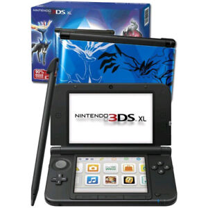 Nintendo 3DS XL Pokemon X and Y BLUE +Games