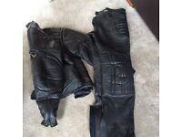 Frank Thomas leather biker set