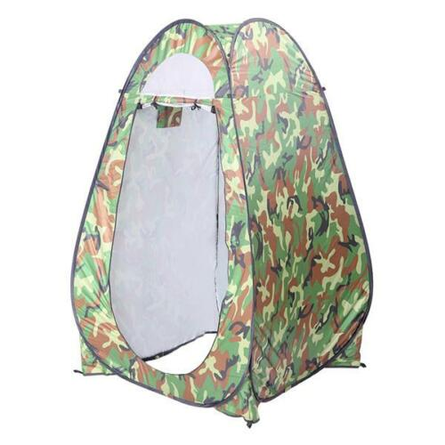 US Portable Pop-up Shower Tent Outdoor Camping Toilet Camo Privacy Changing Room