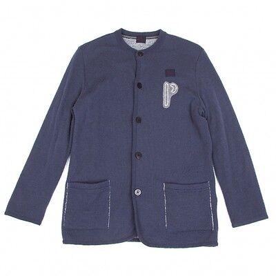 Papas Patch Cardigan Size 46(K-49685)