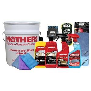 Mothers Brand Automotive Detailing Kit In A Bucket - Great Gift