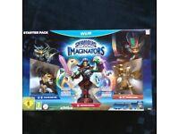 Skylanders Imaginators for WiiU plus 2 figures & 2 crystals