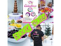 Chocolate Fountain, Candy floss, Popcorn, Candy Cart, Dessert Table /Photo Booth/Magic Mirror