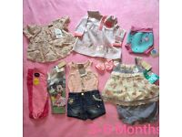 3-6 girls clothes all brand new with tags