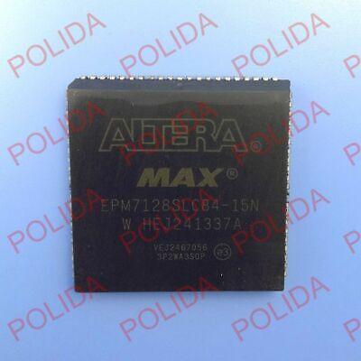 5pcs Programmable Logic Device Cpld Ic Altera Plcc-84 Epm7128slc84-15n