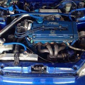 Honda civic turbo 20psi