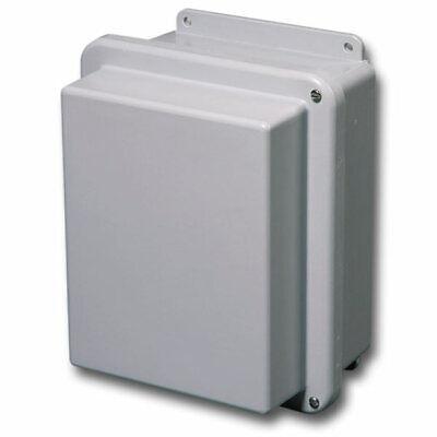 Stahlin Electrical Fiberglass Enclosurebox Rj604hw 6x4x6 With Back Panel