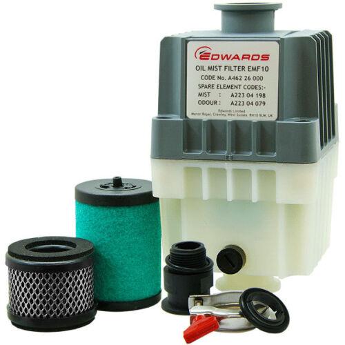 Edwards EMF10 Dual-Stage Exhaust Mist Odor Filter for RV3 RV5 RV8