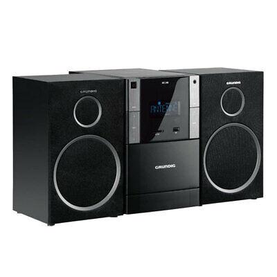Grundig MS 240 Design Mirco Anlage USB MP3 UKW Radio CD Kassettendeck