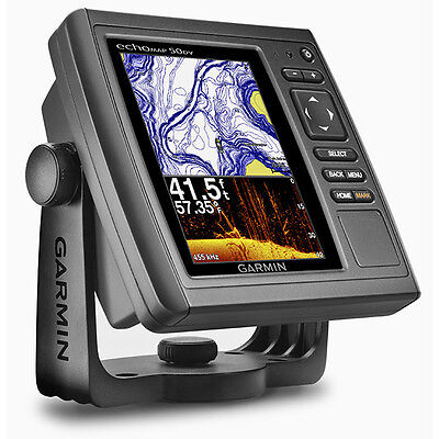 GARMIN echoMAP 50dv GPS US Maps Chartplotter 010-01300-00 NEW - NO Transducer