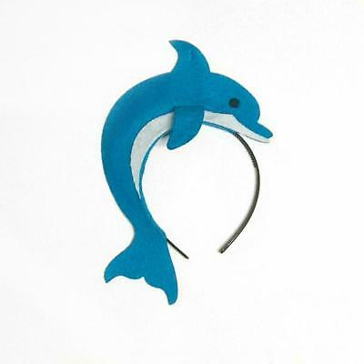 Dolphin headband under the sea creature birthday party favor supplies costume](Dolphin Birthday Party)