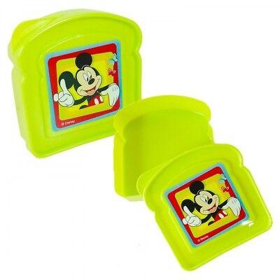 Sandwich Box Brotdose Lunchbox Kindergarten KiTa Schule Disney Mickey Maus