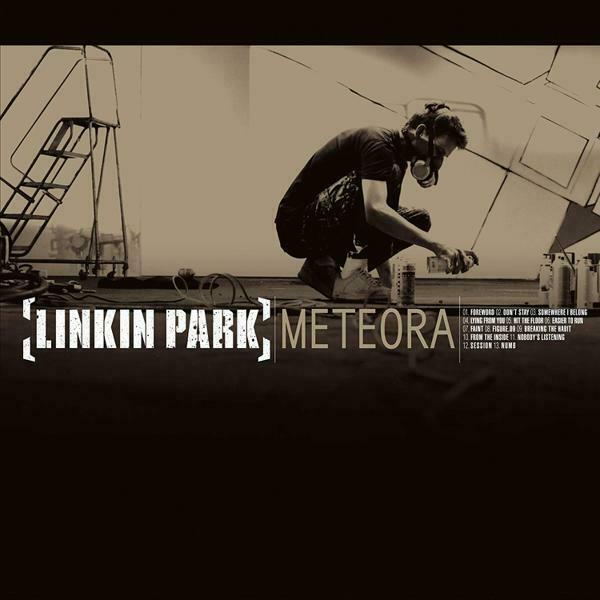 Linkin Park - Meteora NEW Sealed BLACK Vinyl LP Album