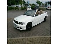 2003 BMW 325CI AUTO CONVERTIBLE WHITE LPG
