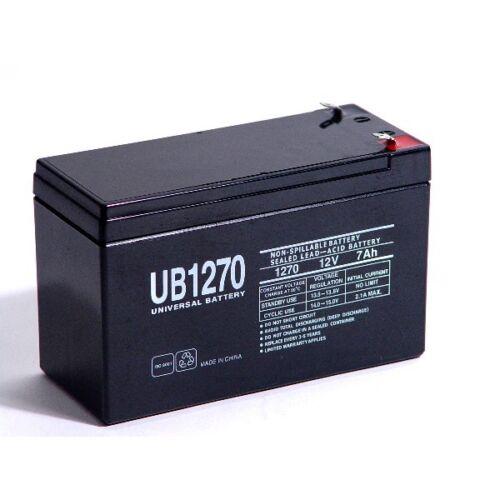 This is an AJC Brand Replacement APC Smart-UPS 1500 Rack Mount 2U SUA1500RM2U 12V 7Ah UPS Battery