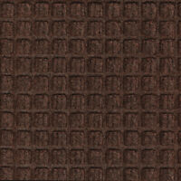Waterhog Indoor/Outdoor Entrance Floor Mat 4ftx7ft Dk Brwn