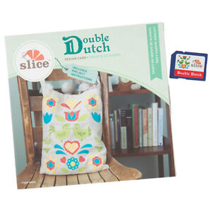 SLICE FABRIQUE DOUBLE DUTCH DESIGN CARD MAKING MEMORIES FABRIC CUTTER **NEW**