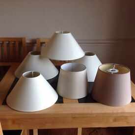 Bundle 10 Lamp Shades Ideal New Home Owner or Landlord