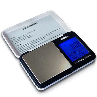 G&G TS-WB 300g/0,01g Goldwaage Präzisionswaag Digital-Waage Taschenwaage