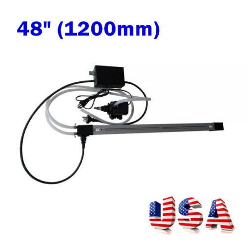 "USA! 48"" Manual Acrylic Plastic PVC Bending Machine Bender Heater"