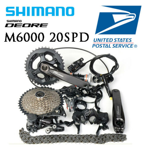 Shimano Deore M6000 2x10S Group Set Group Kit Hydraulic Brak