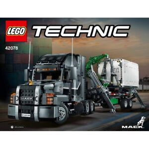 Lego Mack Anthem Technic Truck #42078 (brand new)