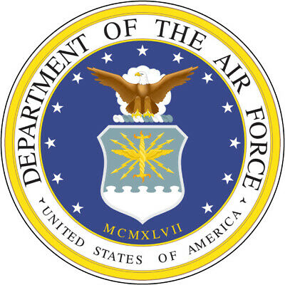 - United States Department Of the Air Force Seal Bumper Sticker America Military