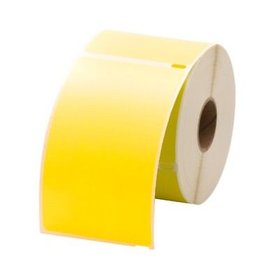 6 Rolls 300 Labels Per Roll Dymo-compatible 30256 Yellow Shipping Labels
