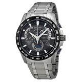 Citizen AT4010-50E Eco-Drive Perpetual Chronograph Titanium Mens Watch