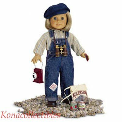 Hobo Outfit (American Girl Kit's Hobo Overalls Outfit & Boots)