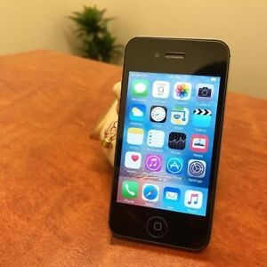 Pre loved iPhone 4 black 16G UNLOCKED with charger Calamvale Brisbane South West Preview