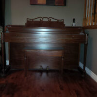 Piano - 1942 Baldwin Acrosonic Apartment Size