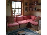 Corner sofa arrangement. Ex IKEA