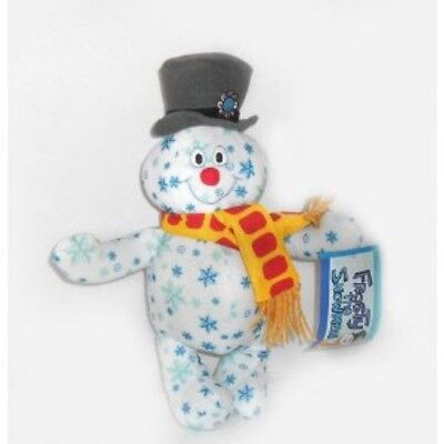 Holiday Snowflake Frosty the Snowman Plush 10