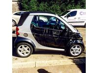 Smart Fortwo convertible 2002 0.6 turbo Mercedes