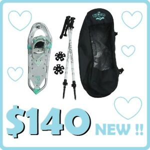 WOMEN'S Snowshoes --- Elektra Collection (23'') --- $140 !!